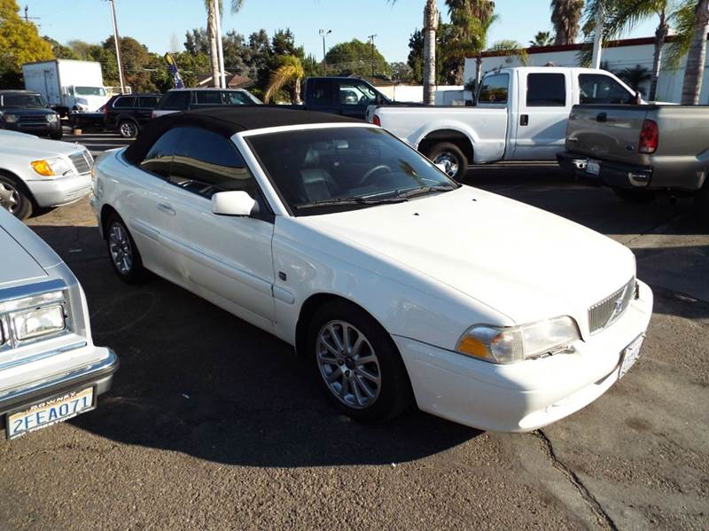 1999 VOLVO C70 LT 2DR TURBO CONVERTIBLE white this is a clean and good running transportation veh