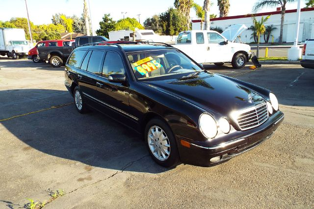 2001 MERCEDES-BENZ E-CLASS E320 4DR WAGON black full power 3 rd row seat abs - 4-wheel anti-thef
