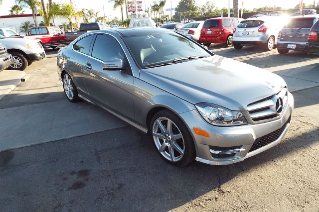 2013 MERCEDES-BENZ C-CLASS C250 2DR COUPE palladium silver 1 owner california car as clean as they