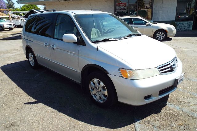 2002 HONDA ODYSSEY EX 4DR MINIVAN silver abs - 4-wheel anti-theft system - alarm captain chairs