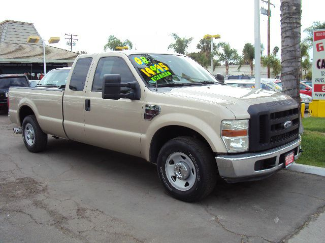 2008 FORD F250 XL SUPERCAB LONG BED 2WD gold abs brakesamfm radioanti-brake system 4-wheel abs
