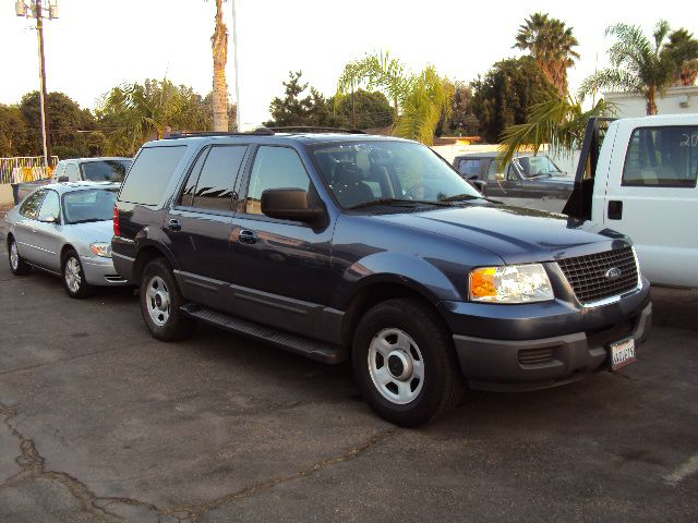2003 FORD EXPEDITION XLT PREMIUM 46L 2WD blue tv dvd abs brakesadjustable foot pedalsair condit