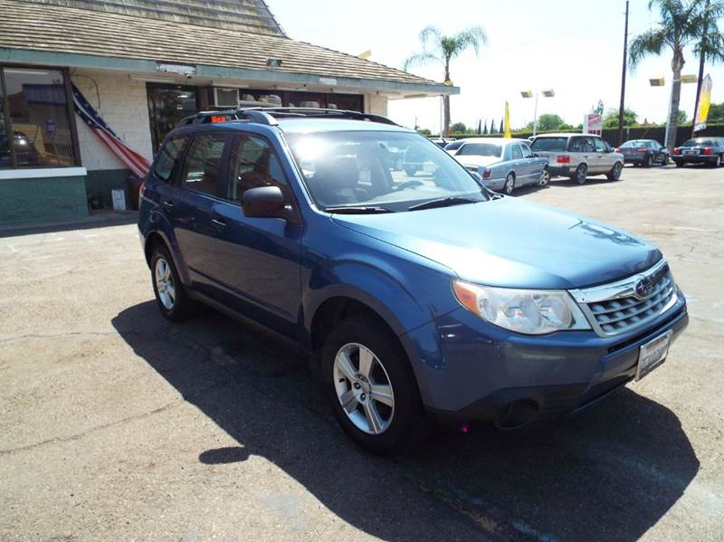 2011 SUBARU FORESTER 25X AWD 4DR WAGON 4A blue 2-stage unlocking doors 4wd selector - electroni