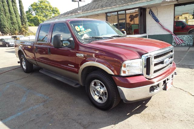 2005 FORD F-250 SUPER DUTY LARIAT 4DR CREW CAB RWD LB maroongold abs - 4-wheel anti-theft system