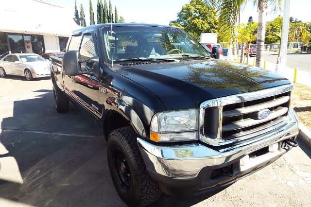 2004 FORD F-350 SUPER DUTY LARIAT 4DR CREW CAB black abs - 4-wheel anti-theft system - alarm axl