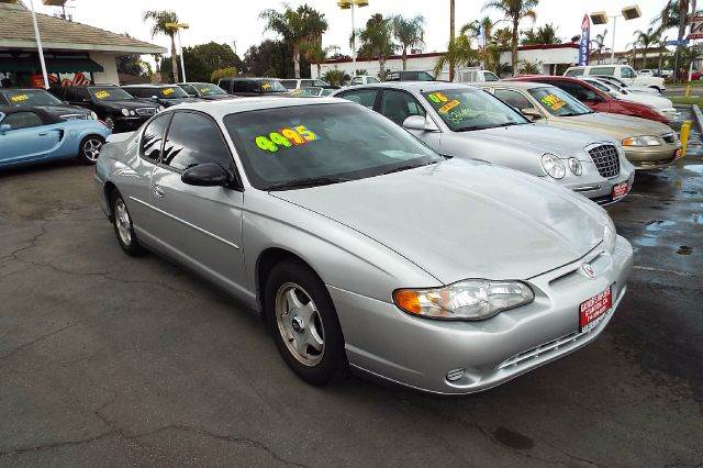 2001 CHEVROLET MONTE CARLO LS 2DR COUPE silver abs - 4-wheel alloy wheels anti-theft system - a