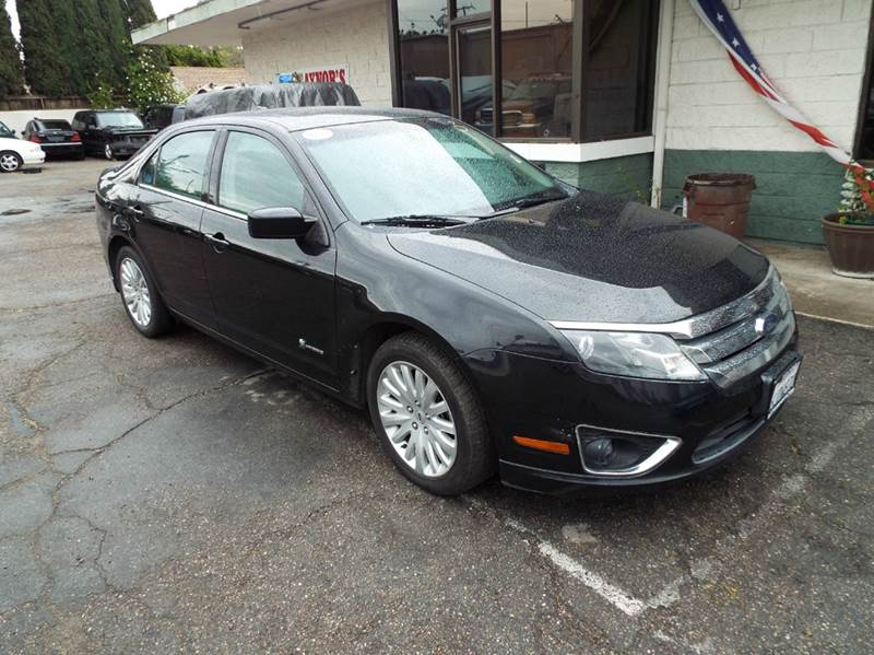2010 FORD FUSION HYBRID BASE 4DR SEDAN black abs - 4-wheel air filtration airbag deactivation -
