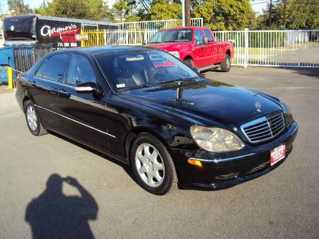 2001 MERCEDES-BENZ S-CLASS S500 black abs brakesair conditioningalloy wheelsamfm radioanti-br