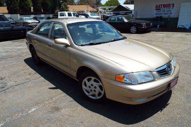 2000 MAZDA 626 LX V6 4DR SEDAN gold center console cruise control exterior mirrors - power fro