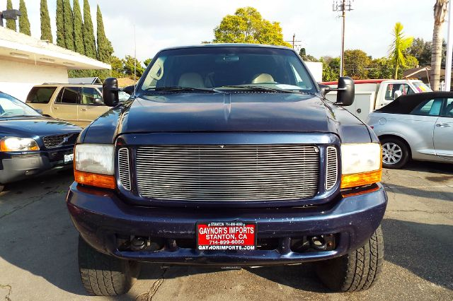 2000 FORD EXCURSION LIMITED 4DR 4WD SUV blue fab tech  lift offroad steel wheels and tires limited