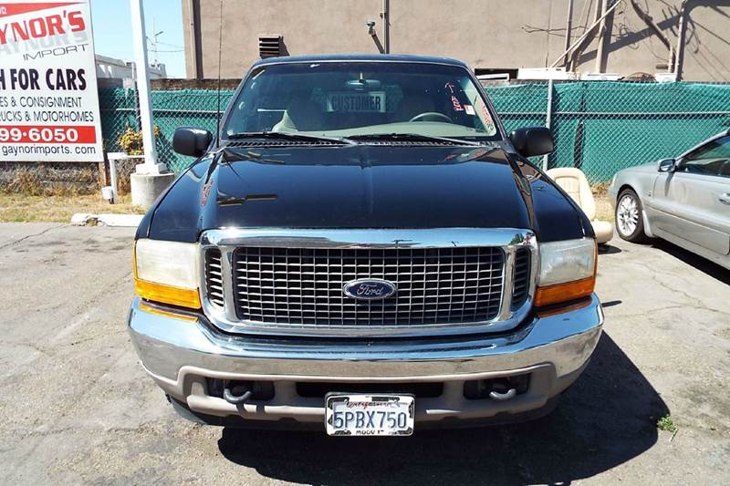 2000 FORD EXCURSION LIMITED 4DR SUV blackgold abs - 4-wheel axle ratio - 373 captain chairs -