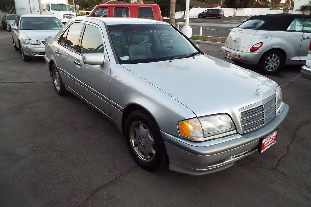 2000 MERCEDES-BENZ C-CLASS C230 SUPERCHARGED 4DR SEDAN silver abs - 4-wheel anti-theft system - a