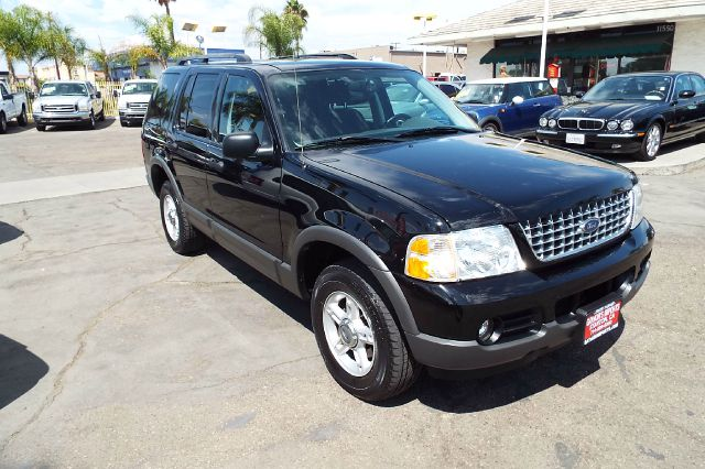 2003 FORD EXPLORER XLT 4DR SUV black 7 passenger 3rd row seat black exterior with grey interior t