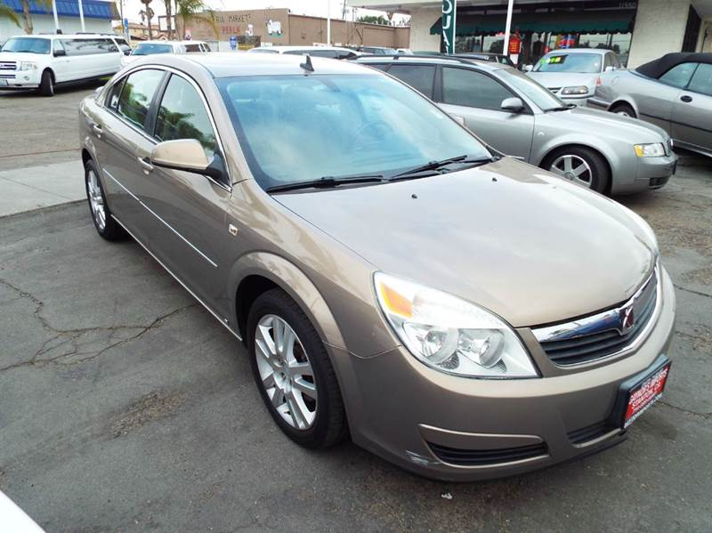 2008 SATURN AURA XE 4DR SEDAN V6 champagne 2-stage unlocking doors abs - 4-wheel airbag deactiv