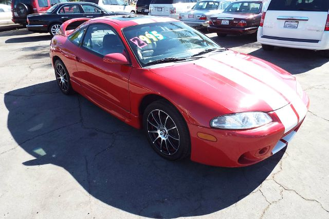 1999 MITSUBISHI ECLIPSE GS 2DR HATCHBACK redwhite this is a sporty looking vehicle  cassette cen