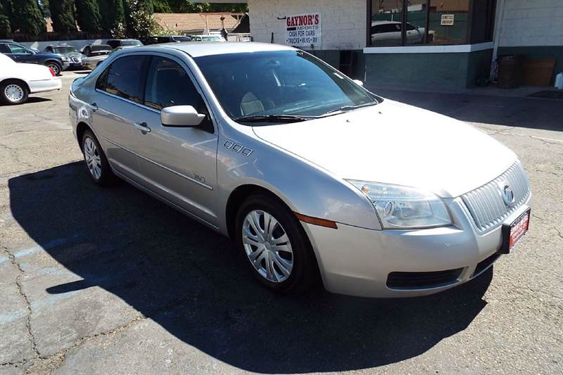 2007 MERCURY MILAN I-4 4DR SEDAN silver abs - 4-wheel airbag deactivation - occupant sensing pas