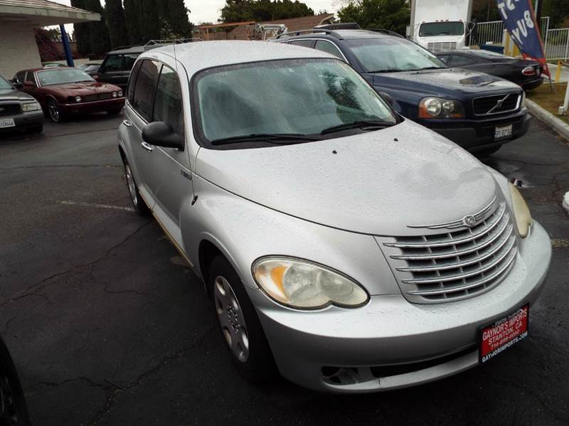 2006 CHRYSLER PT CRUISER TOURING 4DR WAGON silver airbag deactivation - occupant sensing passenge