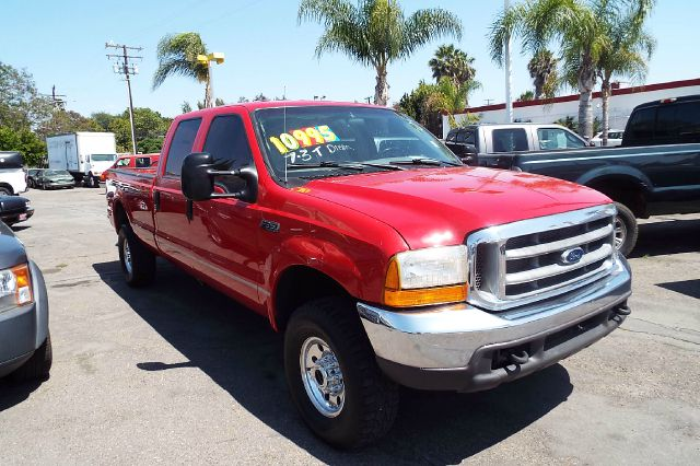 1999 FORD F-350 SUPER DUTY XLT 4DR 4WD CREW CAB LB red this is a ford f350 crew cab 73 diesel 4x