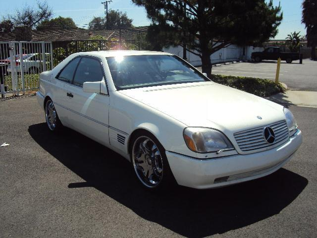 1995 MERCEDES-BENZ S-CLASS S500 COUPE white gaynors imports is  family owned and opperated  in or