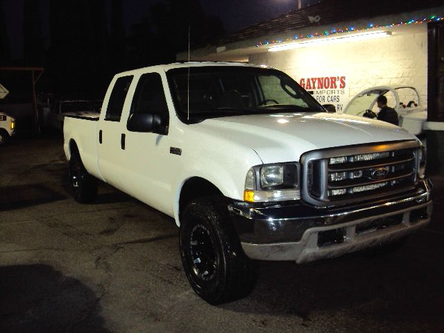 2004 FORD F250 XL CREW CAB LONG BED 4WD white 2004 ford f250 54 v8 4 wheel drive 4 door crew cab
