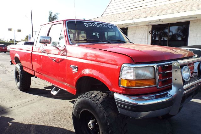 1996 FORD F-250 XLT 2DR 4WD EXTENDED CAB LB HD red 1996 ford f250 xlt extra cab long bed 73 turb