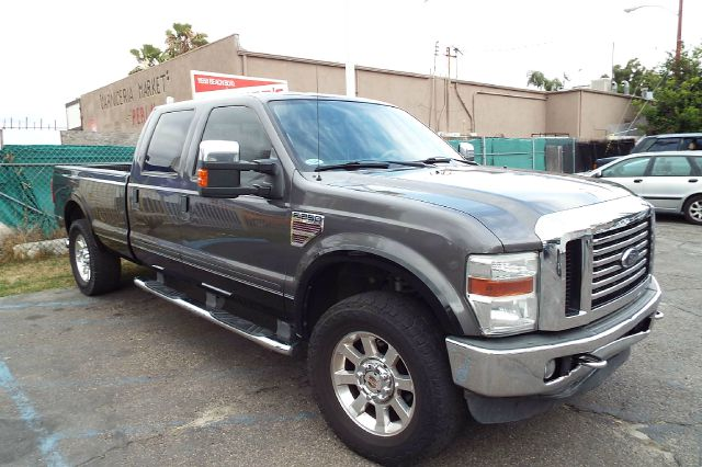 2008 FORD F-250 SUPER DUTY LARIAT 4DR CREW CAB 4WD LB grey 2-stage unlocking - remote 4wd type -
