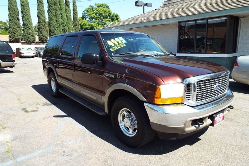 2000 FORD EXCURSION LIMITED 4DR SUV maroon priced to sell 68l v10 sohc 20v fi engine abs - 4-wh