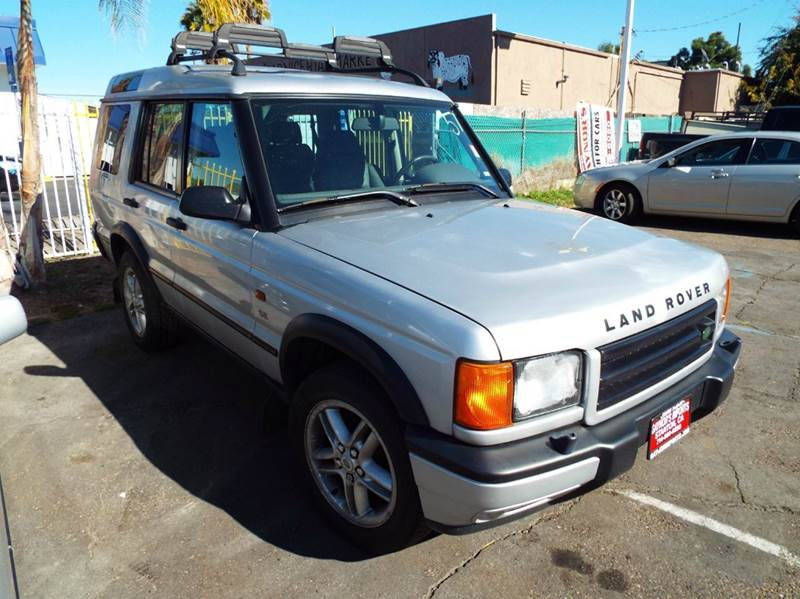 2002 LAND ROVER DISCOVERY SERIES II SE 4WD 4DR SUV silver abs - 4-wheel anti-theft system - alar
