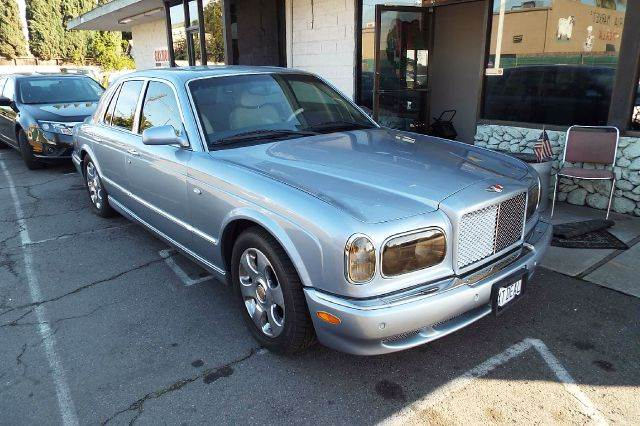 2001 BENTLEY ARNAGE RED LABEL 4DR SEDAN light blue this is a red label not the cheaper green labe