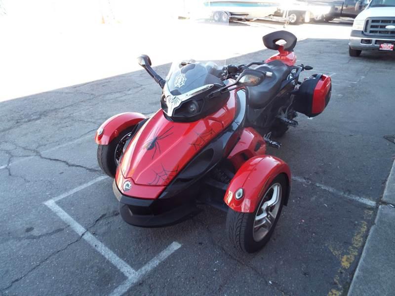 2008 CAN-AM RS SM 5 SPYDER RS redblack 14746 miles VIN 2bxjaha148v000454