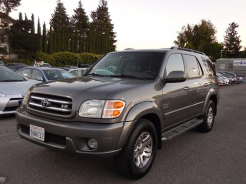 2004 Toyota Sequoia for sale in Fremont, CA