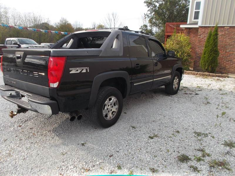 2005 chevrolet avalanche 4dr 1500 z71 4wd crew cab sb in canal contact sciox Image collections