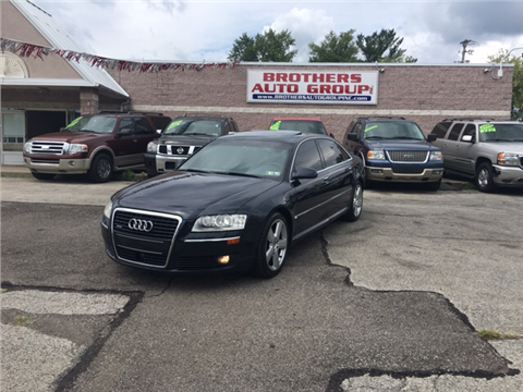 2007 Audi A8 L for sale in Youngstown, OH