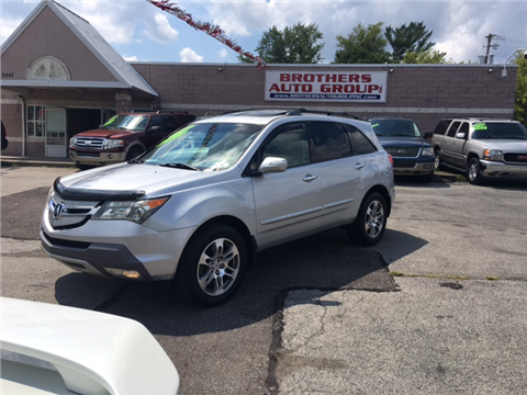 2007 Acura MDX for sale in Youngstown, OH