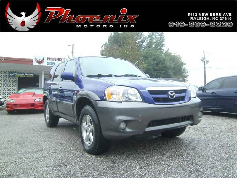 2005 Mazda Tribute S 4wd 4dr Suv In Raleigh Nc Phoenix