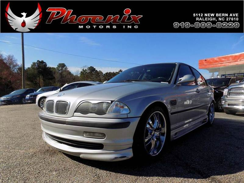 2000 bmw 3 series 323i 4dr sedan in raleigh nc phoenix motors inc. Black Bedroom Furniture Sets. Home Design Ideas