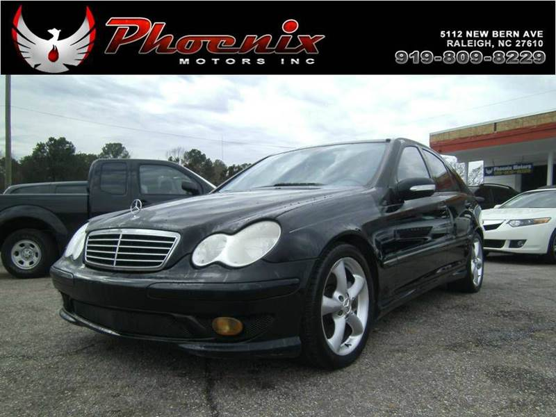 2005 mercedes benz c class c230 kompressor 4dr sedan in raleigh nc phoenix motors inc. Black Bedroom Furniture Sets. Home Design Ideas