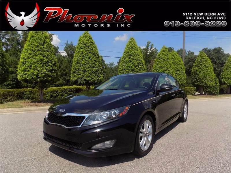 Kia Optima Ex Sedan In Raleigh Nc Phoenix Motors Inc