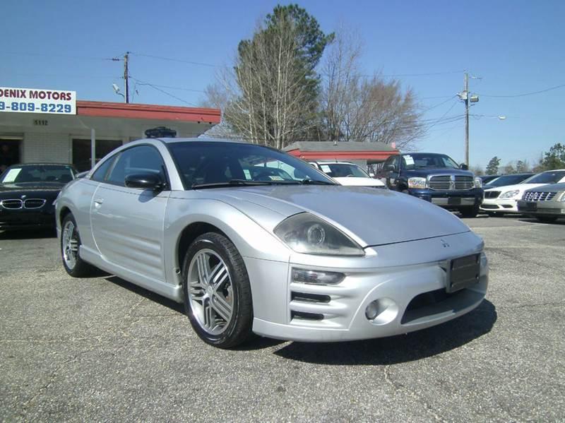 2003 Mitsubishi Eclipse In Raleigh Nc Phoenix Motors Inc
