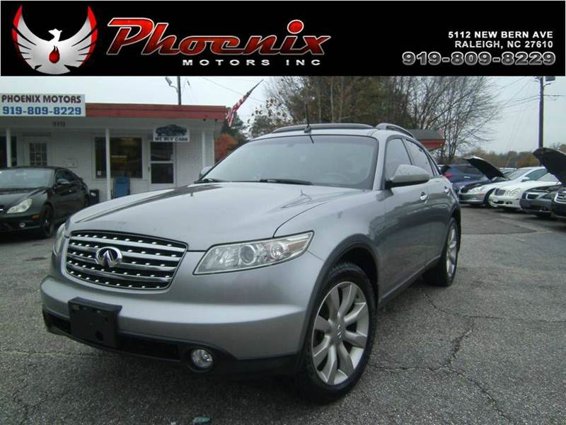 2003 Infiniti Fx45 Base Awd 4dr Suv In Raleigh Nc