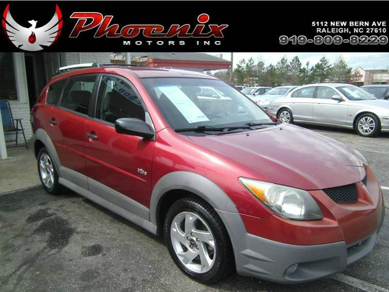 2004 Pontiac Vibe Base Fwd 4dr Wagon In Raleigh Nc