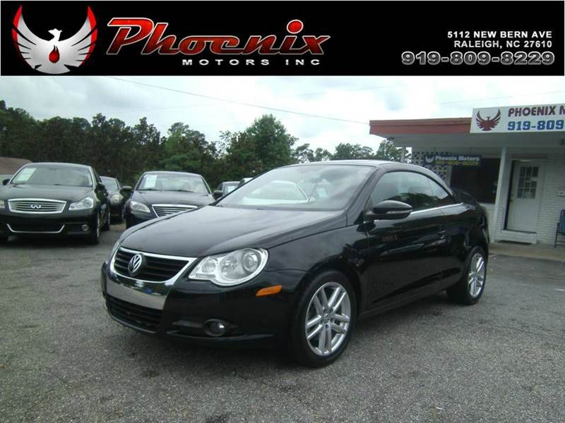 2009 Volkswagen Eos Lux 2dr Convertible In Raleigh Nc