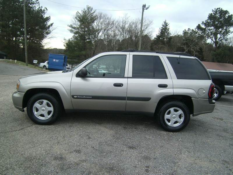 2003 chevrolet trailblazer ls 4wd 4dr suv in raleigh nc. Black Bedroom Furniture Sets. Home Design Ideas