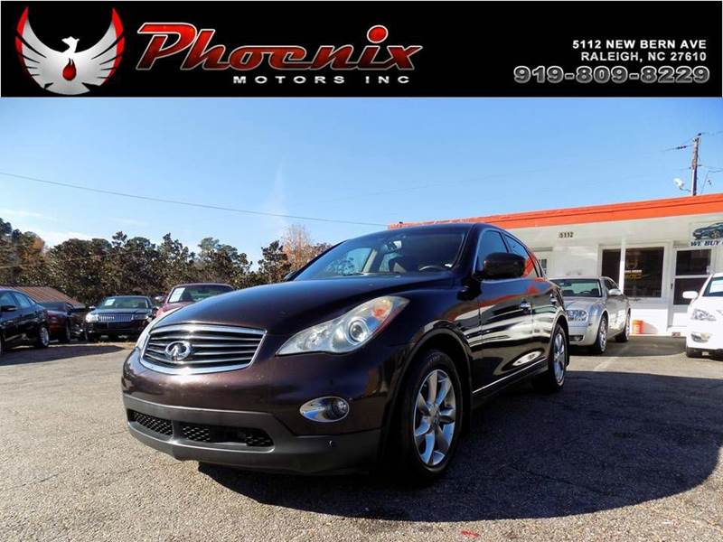 2008 infiniti ex35 journey 4dr crossover in raleigh nc