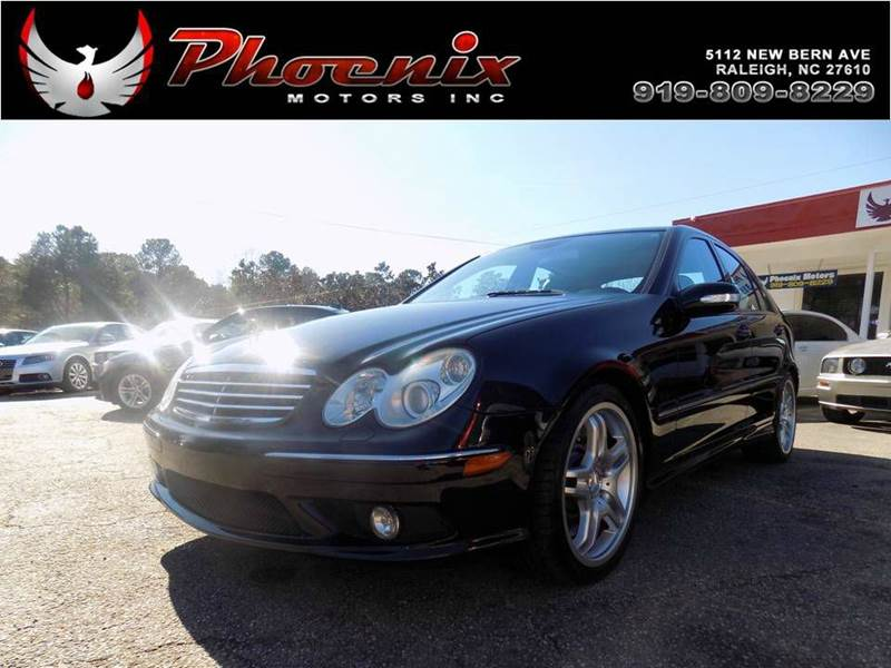 2006 mercedes benz c class c 55 amg 4dr sedan in raleigh nc phoenix motors inc. Cars Review. Best American Auto & Cars Review