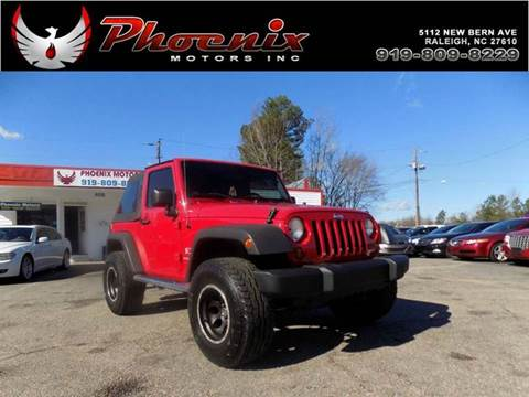 2007 Jeep Wrangler for sale in Raleigh, NC