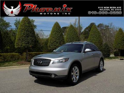 2005 Infiniti FX45 for sale in Raleigh, NC