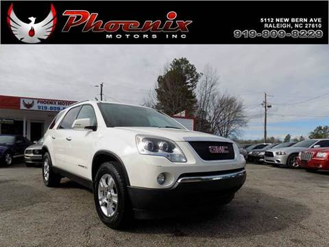2008 GMC Acadia for sale in Raleigh, NC