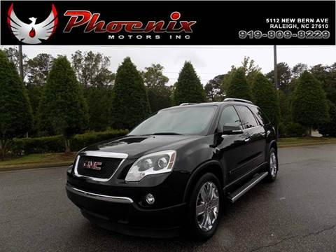2010 GMC Acadia for sale in Raleigh, NC