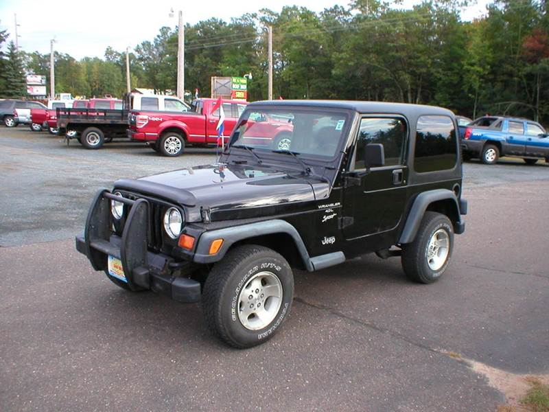 1999 jeep wrangler for sale in siren wi. Black Bedroom Furniture Sets. Home Design Ideas